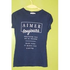 Top, tee-shirt AMISU Bleu, bleu marine, bleu turquoise