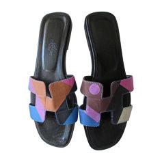 Sandales, nu-pieds Hermès Femme   articles luxe - Videdressing bc3cf221864