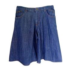 Jupe mi-longue DOLCE & GABBANA Bleu, bleu marine, bleu turquoise