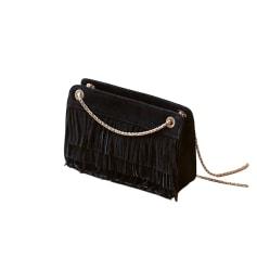 Leather Shoulder Bag SÉZANE Black