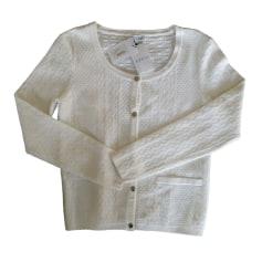Gilet, cardigan CLAUDIE PIERLOT Blanc, blanc cassé, écru