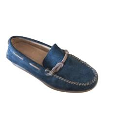 Mocassins JOHN VARVATOS Bleu, bleu marine, bleu turquoise