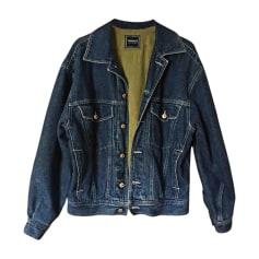 Giacca di jeans VERSACE Blu, blu navy, turchese