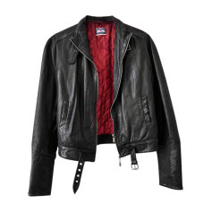 Leather Jacket JEAN PAUL GAULTIER Black