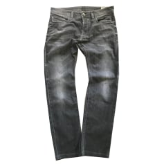 Straight Leg Jeans DIESEL Gray, charcoal