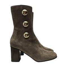 High Heel Boots CHLOÉ Beige, camel