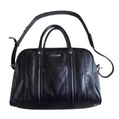Sac XL en cuir ZADIG & VOLTAIRE bleu marine