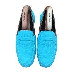 Mocassins J.M. WESTON Bleu, bleu marine, bleu turquoise