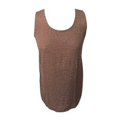 Top, tee-shirt GUCCI Marron