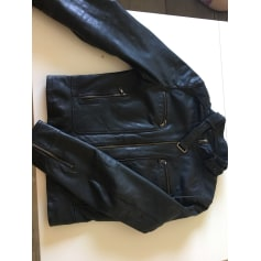 Blouson en cuir REDSKINS Noir