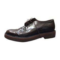 Glisser Sur Chaussures De Sport Pour Les Hommes En Vente, Noir, Cuir, 2017, 42 Vivienne Westwood