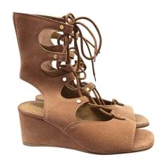 Wedge Sandals CHLOÉ Beige, camel
