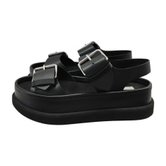 Sandales compensées STELLA MCCARTNEY Noir