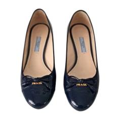 Ballet Flats PRADA Blue, navy, turquoise