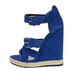 Espadrilles BALENCIAGA Bleu, bleu marine, bleu turquoise