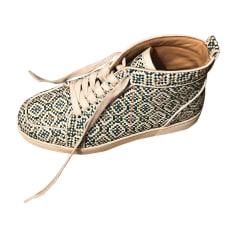 Baskets CHRISTIAN LOUBOUTIN Vert
