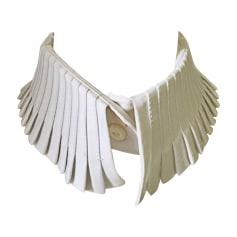 Tie KARL LAGERFELD White, off-white, ecru