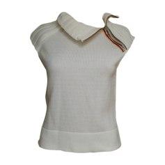 Top, tee-shirt KENZO Blanc, blanc cassé, écru
