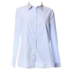 Top, tee-shirt CLAUDIE PIERLOT Bleu, bleu marine, bleu turquoise