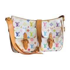 Leather Shoulder Bag LOUIS VUITTON Multicolor
