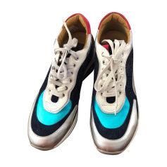 Scarpe da tennis CESARE PACIOTTI Argent bleu