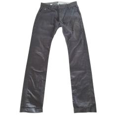Straight Leg Pants DIESEL Gray, charcoal