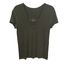 Top, tee-shirt ZADIG & VOLTAIRE Kaki