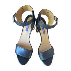 Sandales à talons RALPH LAUREN Noir
