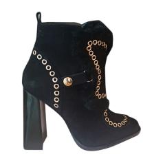 High Heel Ankle Boots SOPHIA WEBSTER Black