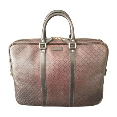 Briefcase GUCCI Brown