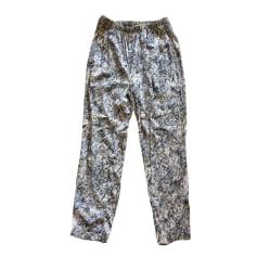 Pantalon droit AMERICAN VINTAGE Multicouleur
