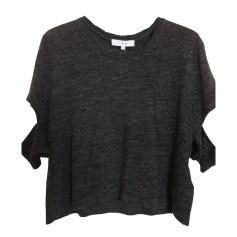 Tops, T-Shirt IRO Grau, anthrazit