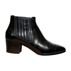 High Heel Ankle Boots TOD'S Black