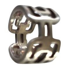 Anello HERMÈS Argentato, acciaio