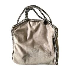 Leather Handbag STELLA MCCARTNEY Falabella Gray, charcoal
