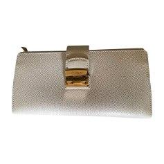 Wallet FURLA White, off-white, ecru