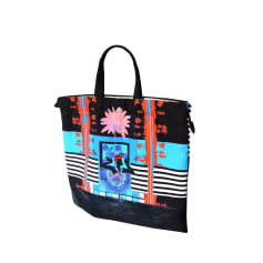 Sac XL en tissu SAVE THE QUEEN Multicouleur