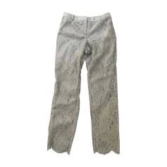 Straight Leg Pants VALENTINO Gray, charcoal
