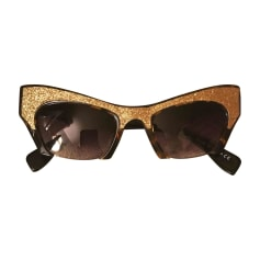 Sunglasses MIU MIU Golden, bronze, copper