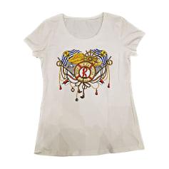 Top, t-shirt ROBERTA DI CAMERINO Bianco, bianco sporco, ecru