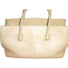 Leather Handbag TOD'S White, off-white, ecru