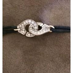 Armband DINH VAN Menottes Silberfarben, stahlfarben