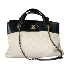 Leather Handbag CHANEL Beige, camel