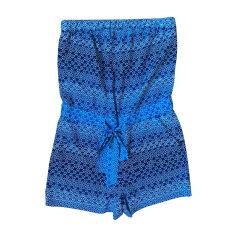 Playsuit DIANE VON FURSTENBERG Blue, navy, turquoise