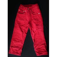 Pantalone RALPH LAUREN Rosso, bordeaux