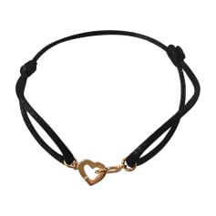 Bracelet DINH VAN Doré, bronze, cuivre