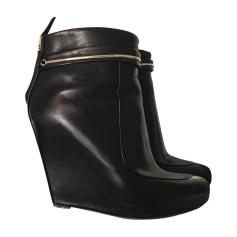 Bottines & low boots à compensés GIVENCHY Noir