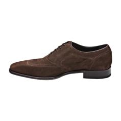 Chaussures à lacets A. TESTONI Marron