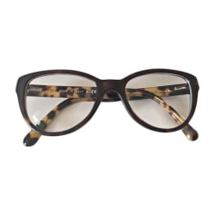 Eyeglass Frames CHANEL Brown