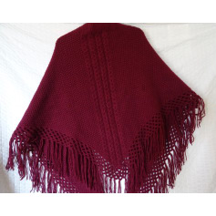 Shawl A.P.C. Red, burgundy